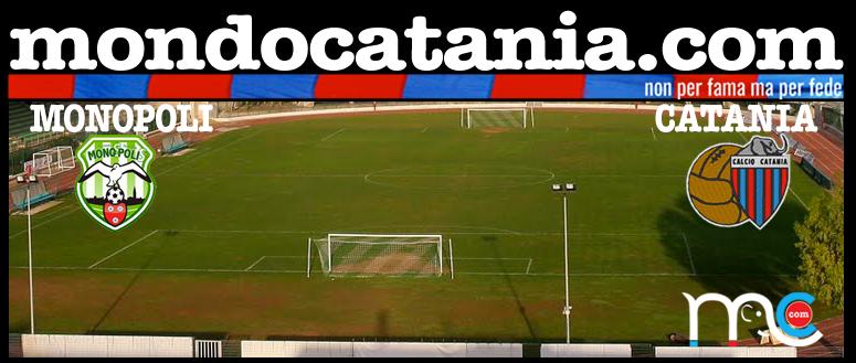 Diretta Monopoli Catania