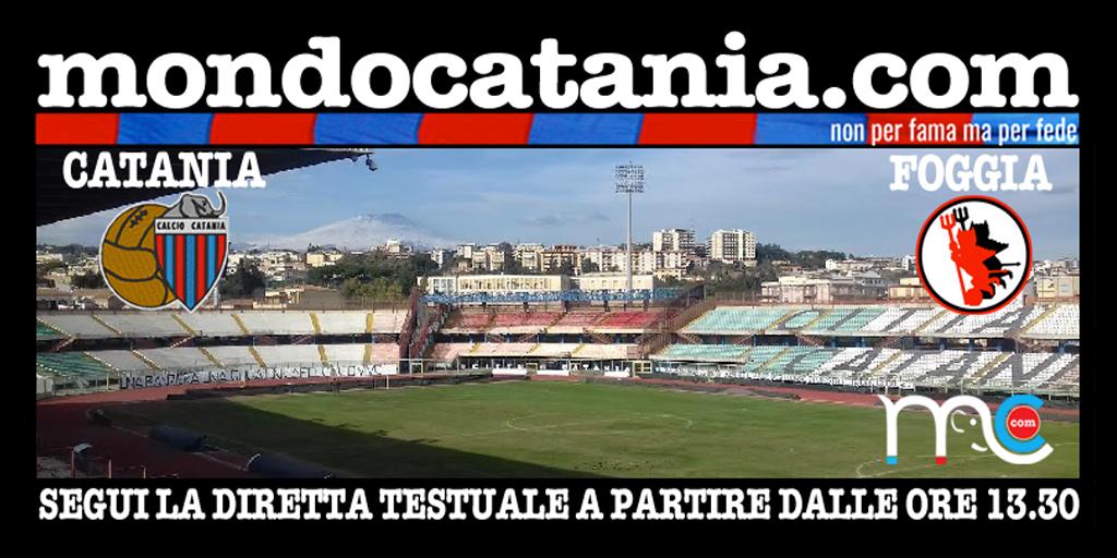 Foggia diretta testuale twitter for Mondo catania